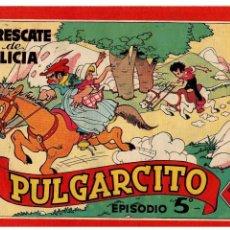 Tebeos: AVENTURAS DE PULGARCITO EPISODIO 5º -ORIGINAL- AÑO 1944.. Lote 105542679