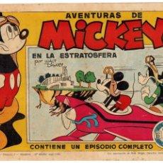 Tebeos: AVENTURAS DE MICKEY -COLECCIÓN WALT DISNEY SERIE D Nº 1- ORIGINAL. AÑO 1945. MUY BUENO.. Lote 105545675