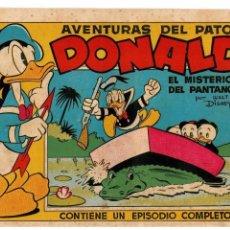 Tebeos: AVENTURAS DEL PATO DONALD -COLECCIÓN WALT DISNEY SERIE E Nº 1- ORIGINAL AÑO 1945.. Lote 105554635