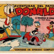 Tebeos: AVENTURAS DEL PATO DONALD -COLECCIÓN WALT DISNEY SERIE E Nº 10 - ORIGINAL AÑO 1945.. Lote 105555391