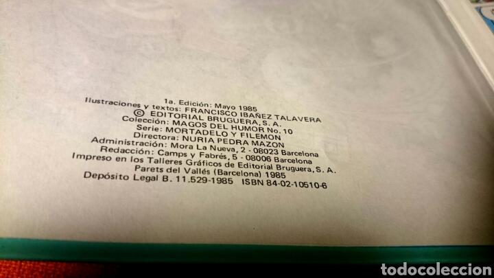 Tebeos: MORTADELO Y FILEMON.LOTE 2 CÓMIC.LA MÁQUINA DEL CAMBIAZO+ ESPECIAL EURO BASKET 2007 - Foto 5 - 104622400