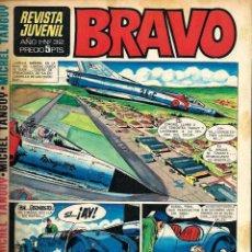 Tebeos: SEMANARIO BRAVO Nº 32 - BRUGUERA 1968 - CON MICHEL TANGUY, BLUEBERRY, TOPOLINO - BIEN CONSERVADO. Lote 105655759