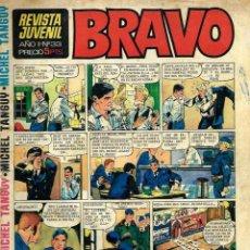 Tebeos: SEMANARIO BRAVO Nº 33 - BRUGUERA 1968 - CON MICHEL TANGUY, BLUEBERRY, TOPOLINO -VER DESCRIPCION. Lote 105655863