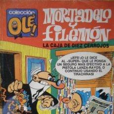 Tebeos: MORTADELO Y FILEMON COLECCION OLE LA CAJA DE DIEZ CERROJOS. Lote 111185415