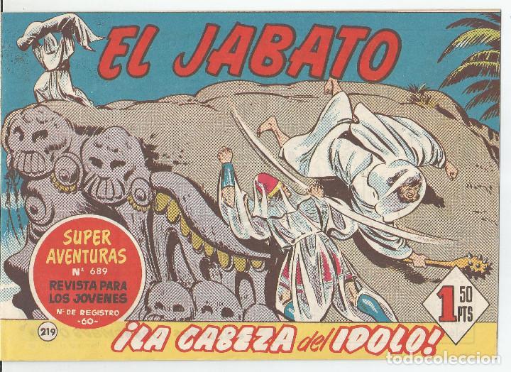 EL JABATO EDITORIAL BRUGUERA Nº 219 (Tebeos y Comics - Bruguera - Jabato)