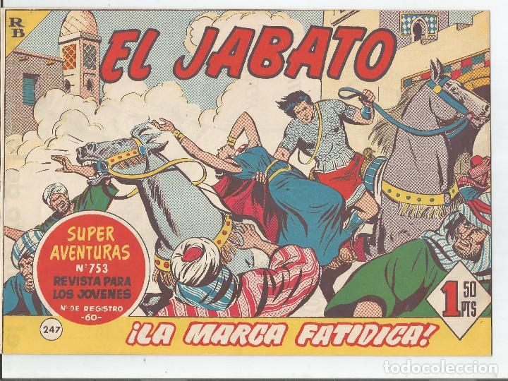 EL JABATO EDITORIAL BRUGUERA Nº 247 (Tebeos y Comics - Bruguera - Jabato)