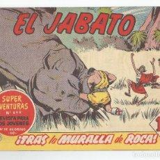Tebeos: EL JABATO EDITORIAL BRUGUERA Nº 222. Lote 105844551