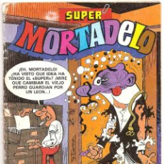 Tebeos: SUPER MORTADELO Nº 145 1983 BRUGUERA - 50 P COLOR. Lote 106018371