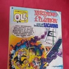 Tebeos: COLECCIÓN OLÉ. Nº 165. MORTADELO Y FILEMÓN. BRUGUERA. 1ª EDICIÓN 1978. Lote 106027467