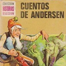 Tebeos: CUENTOS DE ANDERSEN, SERIE LEYENDAS Y CUENTOS, DIBUJOS: VICENTE ROSO Y Mª PASCUAL AÑO 1975. Lote 106060795