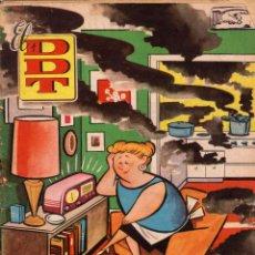 BDs: EL DDT. REVISTA HUMORÍSTICA PARA MAYORES DE 18 AÑOS. AÑO VI. NÚMERO 289. Lote 106095911