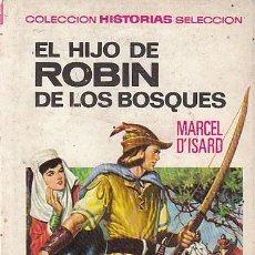 Tebeos: EL HIJO DE ROBIN DE LOS BOSQUES, COLECCIÓN GRANDES AVENTURAS Nº 7, DIBUJOS: CARLOS CAMPAÑÁ, AÑO 1970. Lote 106185111
