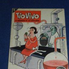 Tebeos: (M7) TIO VIVO NUM 145 , 2 EPOCA 1963 - EDT BRUGUERA, SEÑALES DE USO. Lote 106185695