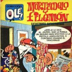 Tebeos: MORTADELO Y FILEMON COLECCION OLE CATASTROFES CATASTROFICAS. Lote 106561791