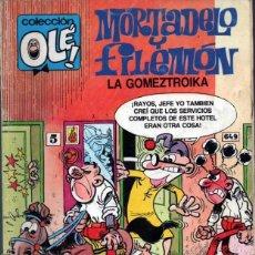 Tebeos: MORTADELO Y FILEMON COLECCION OLE LA GOMEZTROIKA. Lote 106562691