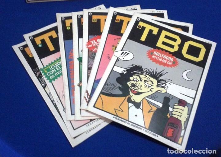 TBO - CUARTA ÉPOCA - COLECCIÓN COMPLETA 1 AL 7 (1986) (Tebeos y Comics - Bruguera - Otros)