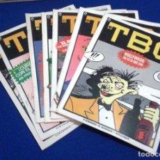 Tebeos: TBO - CUARTA ÉPOCA - COLECCIÓN COMPLETA 1 AL 7 (1986). Lote 106592175