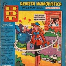 Tebeos: EL DDT. REVISTA HUMORÍSTICA PARA MAYORES DE 18 AÑOS. AÑO VII. NÚMERO 339. MUY BUEN ESTADO. Lote 106594187