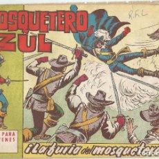 Tebeos: EL MOSQUETERO AZUL EDITORIAL BRUGUERA Nº 20. Lote 106697555