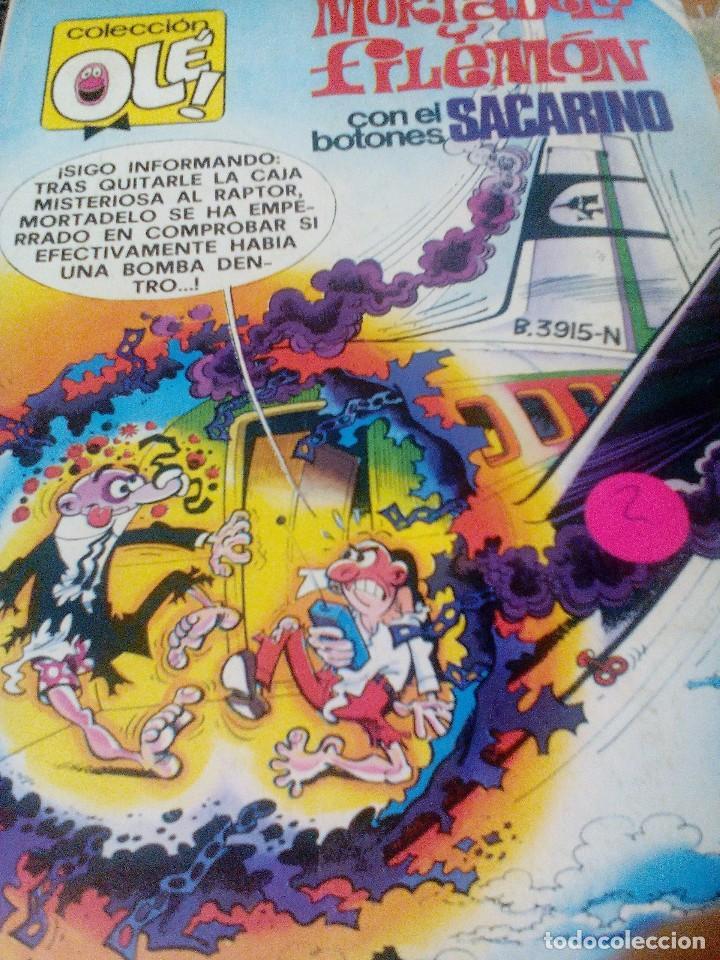 BRUGUERA COLECCIÓN OLE - 1981 - MORTADELO Y FILEMON CON EL BOTONES SACARINO - NUMERO 165 (Tebeos y Comics - Bruguera - Ole)