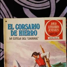 Giornalini: EL CORSARIO DE HIERRO 1ª EDICIÓN JOYAS LITERARIAS JUVENILES 30 PTS NUMERO 50. Lote 106982623