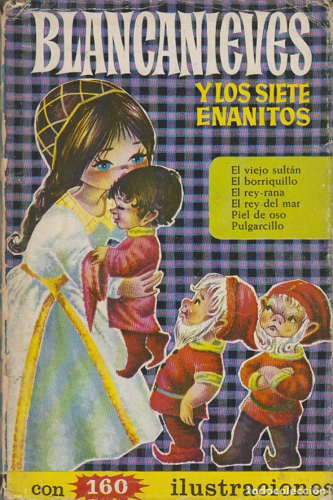 BLANCANIEVES Y LOS SIETE ENANITOS Y OTROS (CUENTOS), SERIE HEIDI Nº 4, AÑO 1966 (Tebeos y Comics - Bruguera - Historias Selección)