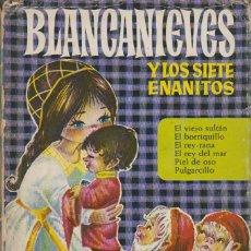 Tebeos: BLANCANIEVES Y LOS SIETE ENANITOS Y OTROS (CUENTOS), SERIE HEIDI Nº 4, AÑO 1966. Lote 107103223