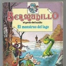 Tebeos: BERMUDILLO, EL GENIO DEL HATILLO: EL MONSTRUO DEL LAGO, 1982, BRUGUERA, PRIMERA EDICIÓN, BUEN ESTADO. Lote 107389211