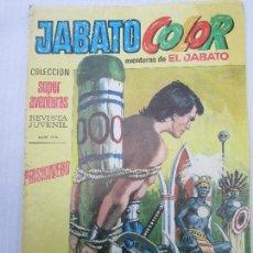 Tebeos: JABATO COLOR , COLECCION SUPER AVENTURAS , N.8 SEGUNDA EPOCA. Lote 107596291