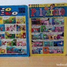 Tebeos: LOTE DE 2 TEBEOS BRUGUERA ANTIGUOS. Lote 107621787