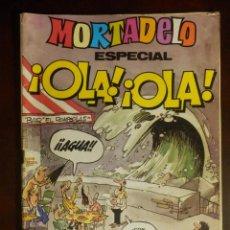 Tebeos: TEBEO - COMIC - MORTADELO - ESPECIAL ¡ OLA! ¡OLA! - AÑO 1981 - Nº 114 - BRUGUERA -. Lote 107763167