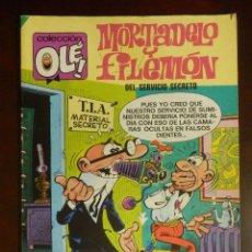 Tebeos: TEBEO - COMIC - MORTADELO Y FILEMÓN - COLECCION OLE AÑO 1983 - Nº 116 - BRUGUERA -. Lote 107763327
