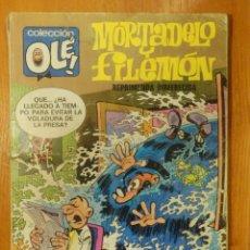 Tebeos: TEBEO - MORTADELO Y FILEMÓN - COLECCION OLE - Nº 15 - AÑO 1976 - REPRIMENDA INMERECIDA - BRUGUERA . Lote 107763747