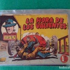 Tebeos: INSPECTOR DAN Nº 17 LA HORA DE LOS VALIENTES EDITORIAL BRUGUERA 1952. Lote 107876131