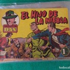 Tebeos: INSPECTOR DAN Nº 13 EL HIJO DE LA NIEBLA EDITORIAL BRUGUERA 1952. Lote 107876615