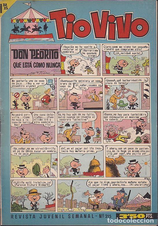 COMIC COLECCION TIO VIVO 2ª EPOCA Nº 215 (Tebeos y Comics - Bruguera - Tio Vivo)