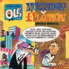 Tebeos: MORTADELO Y FILEMON COLECCION OLE JORNADAS MOVIDITAS. Lote 107930163