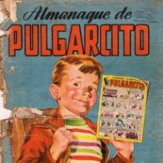 Tebeos: ALMANAQUE DE PULGARCITO. AÑO 1952. Lote 107938087