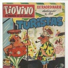 Tebeos: TIO VIVO 103: EXTRAORDINARIO DEDICADO A LOS TURISTAS, 1959, BRUGUERA, BUEN ESTADO. Lote 107965563