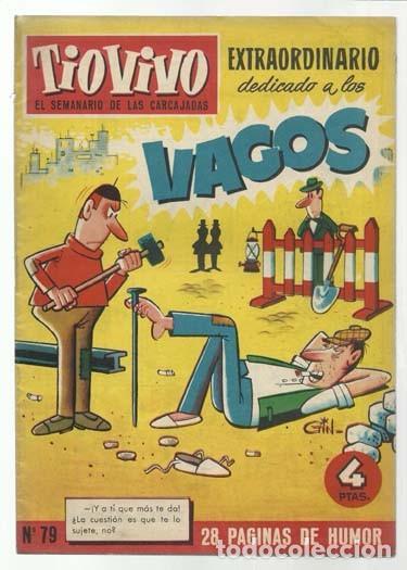 TIO VIVO 79: EXTRAORDINARIO DEDICADO A LOS VAGOS, 1959, CRISOL, BUEN ESTADO (Tebeos y Comics - Bruguera - Tio Vivo)