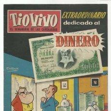 Tebeos: TIO VIVO 82: EXTRAORDINARIO DEDICADO AL DINERO, 1959, CRISOL, BUEN ESTADO. Lote 107966091