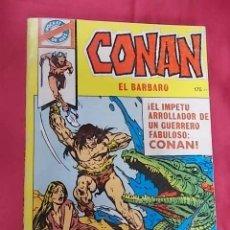 Tebeos: POCKET DE ASES. Nº 22. CONAN. EDITORIAL BRUGUERA.. Lote 108019255