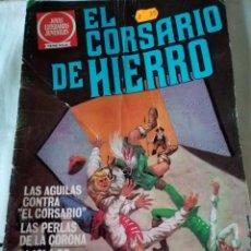 Tebeos: 1-EL CORSARIO DE HIERRO, Nº 56, JOYAS LITERARIAS, SERIE ROJA, 1980. Lote 108019955