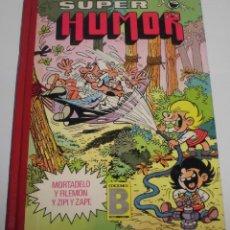 Tebeos: COMIC LIBRO TAPA DURA MORTADELO Y FILEMON SUPER HUMOR TOMO 14 - 1ª EDICION 1987. Lote 108027775