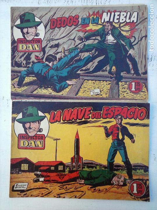 EL INSPECTOR DAN ORIGINAL Nº 70 - DIFICILISIMO- BRUGUERA 1954 - EUGENIO GINER, JULIO VIVAS (Tebeos y Comics - Bruguera - Inspector Dan)