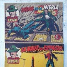 Tebeos: EL INSPECTOR DAN ORIGINALE Nº 70 - DIFICILISIMO- BRUGUERA 1954 - EUGENIO GINER, JULIO VIVAS. Lote 108277167