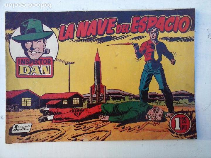 Tebeos: EL INSPECTOR DAN ORIGINAL Nº 70 - DIFICILISIMO- BRUGUERA 1954 - EUGENIO GINER, JULIO VIVAS - Foto 3 - 108277167