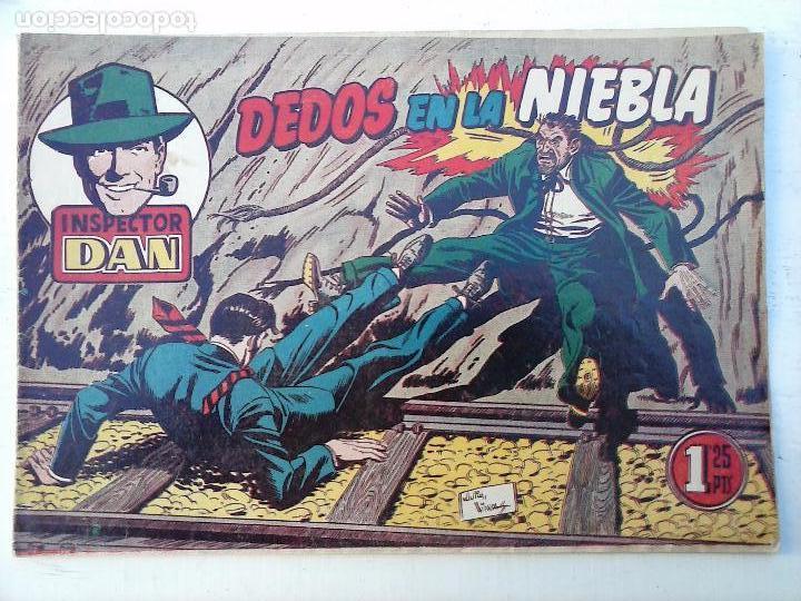 Tebeos: EL INSPECTOR DAN ORIGINAL Nº 70 - DIFICILISIMO- BRUGUERA 1954 - EUGENIO GINER, JULIO VIVAS - Foto 4 - 108277167