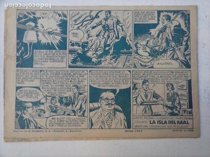 Tebeos: EL INSPECTOR DAN ORIGINAL Nº 70 - DIFICILISIMO- BRUGUERA 1954 - EUGENIO GINER, JULIO VIVAS - Foto 6 - 108277167