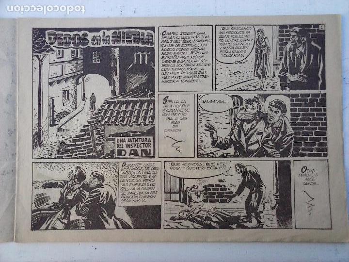 Tebeos: EL INSPECTOR DAN ORIGINAL Nº 70 - DIFICILISIMO- BRUGUERA 1954 - EUGENIO GINER, JULIO VIVAS - Foto 8 - 108277167